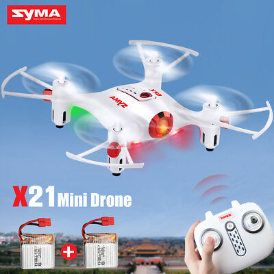 Syma X11 2.4Ghz 6-Axis Gyro RC Quadcopter UFO Drones Helicopter w/Flash Lights