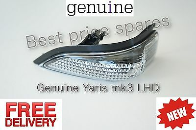 Genuine TOYOTA YARIS III LEFT HAND SIDE MIRROR INDICATOR ASSEMBLY GENUINE