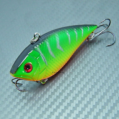 70mm Hard Fishing Lure Bait Crank Swimbait Fishing Tackle Pike Perch Bass Lures