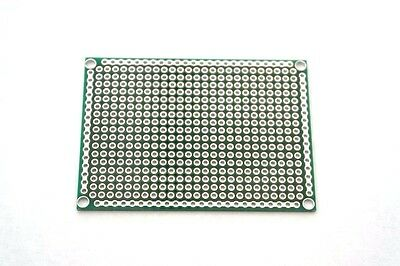 Double Sided 5x7cm PCB Copper Matrix Prototyping Stripboard Breadboard UK Seller