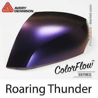 30x75cm FILM Satin ColorFlow Roaring Thunder Avery Dennison Wrapping Covering