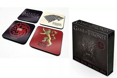 Game Of Thrones Coaster Set - Gift Present