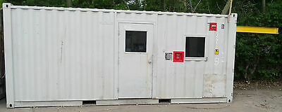 20' Cargo Shipping Storage Sea Container Engine Testing Cell