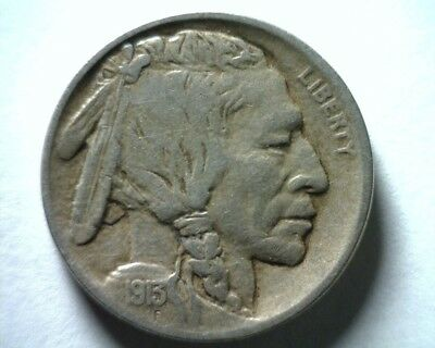 1913 Type 1 Buffalo Nickel Very Fine /extra Fine Vf/xf Very Fine /extremely Fine