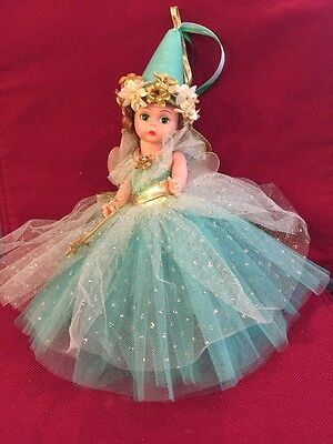 Green Madame Alexander Fairy Of Song Porcelian Doll