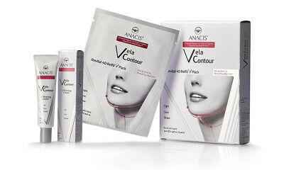 Face Chin Up Lift Neck Line Slimmer Cream & 5 Masks Sagging Double Chin Remover