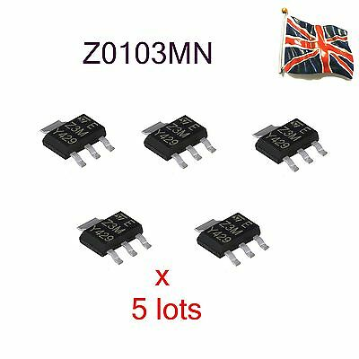 5 Lots Z0103Mn  Z3M St 0103Mn 600V 8.5A  Sot-223Uk Stock