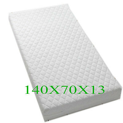 140X70X13 Cot Bed/ Toddler All Sizes Quilted Mattresses Waterproof & Breathable
