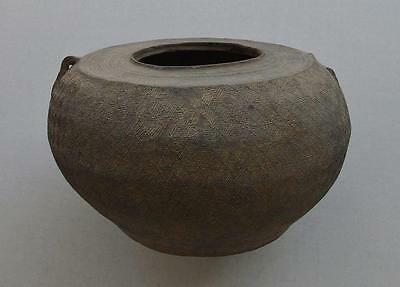 Ancient Chinese Eastern Zhou Warring States Pottery Jar 5th–3rd Century B.C.