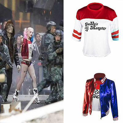 Harley Quinn Suicide Squad Complete Cosplay Halloween Costume