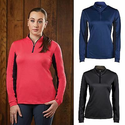 Dublin 'Airflow' Ladies Long Sleeve Shirt Performance Technical Country Riding