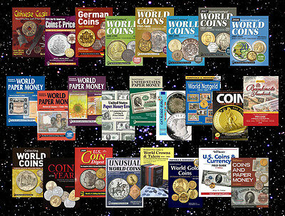 KRAUSE Standard World Catalogs 2016. 25 catalogs of coins and banknotes PDF only