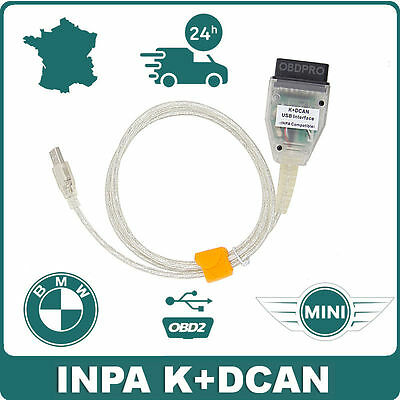 Valise interface diagnostic & programmation INPA K+D-CAN BMW MINI OBD2 Scanner