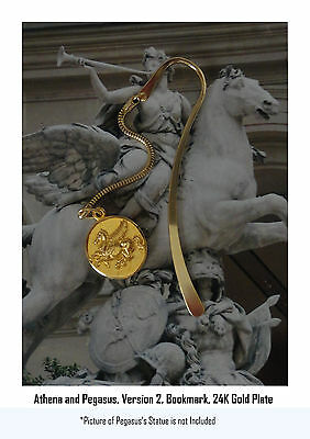 Percy Jackson Book Fans, ATHENA & Pegasus, Annabeth's Mother, BOOKMARK, 43-G