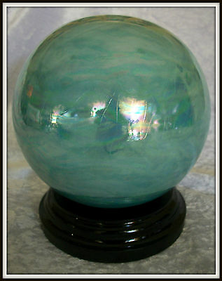 Caribbean Blue with Mother of Pearl Lustre Ceramic Cremation Urn