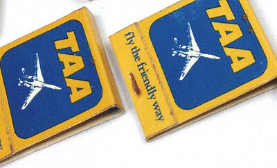 2 x Unopened Vintage TAA Matchbooks Match Books Matches