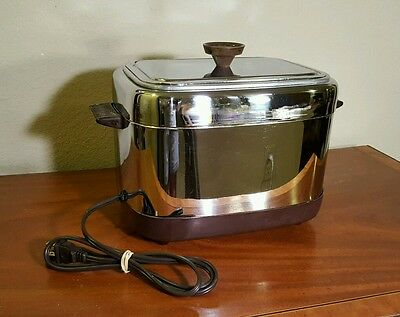 Beautiful Vintage Nesco Fryryte deep fryer. From the mid 50's. Fully Functional.