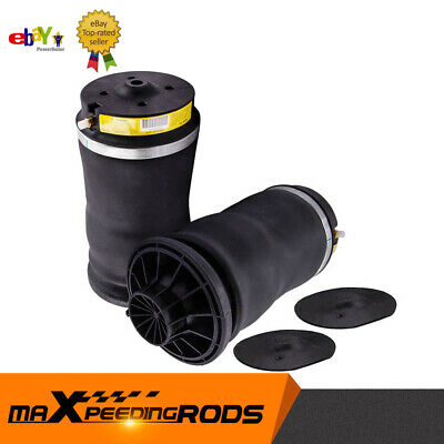 Pair Air Suspension Spring Rear For Mercedes ML GL Class W164 X164 Left + Right