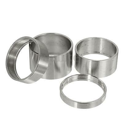 "4PCS 5-20mm Titanium Ti Alloy Spacer 1-1/8"" For Stem Bike Bicycle Washer Headset"