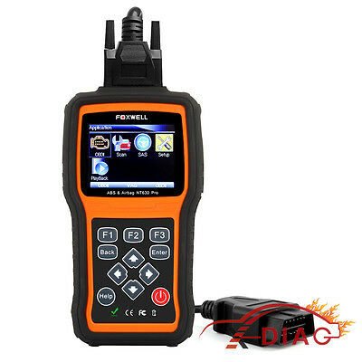 ABS Airbag SRS Vehicle OBD2 Car Diagnostic Scan Tool CAN Data Reset Code Reader