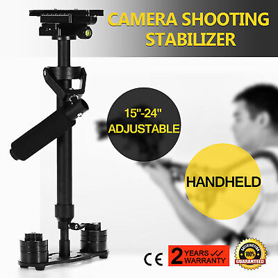 S60 Handheld Stabilizer Steadycam Steadicam for Camcorder Camera DSLR Video DV