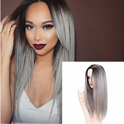 Women's Lady Long Straight Full Hair Cosplay Party Synthetic Anime Wigs/Wig