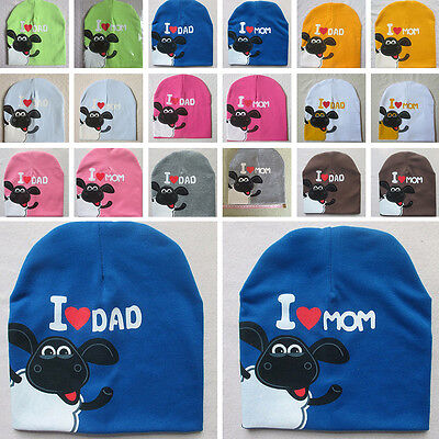 Cap Unisex Cotton Beanie Sheep Infant Baby Fall Hat Spring Warm Winter Toddler