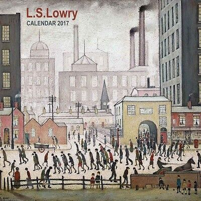 L S Lowry Official Wall Calendar 2017