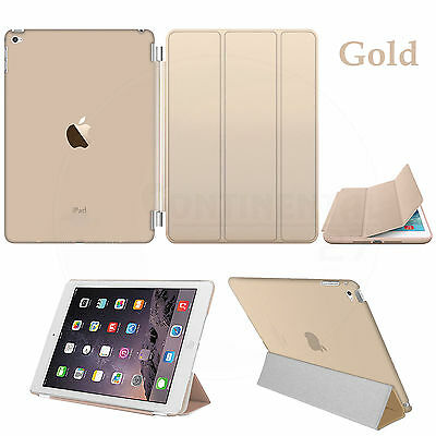 Smart Stand Magnetic New Leather Case Cover For APPLE iPad 4 3 2 Mini 1 2 & 3