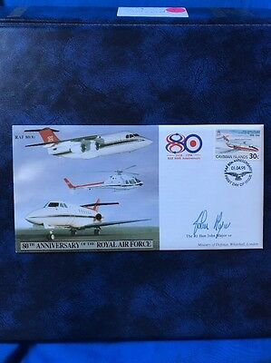 RAF 80(8) 80th Anniversary Of The Royal Air Force - Signed By John Major