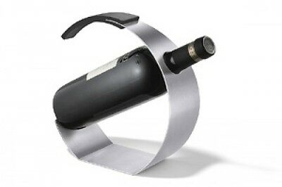 Zack 20551 Cunea Wine Bottle Holder- Stainless Steal. Huge Saving