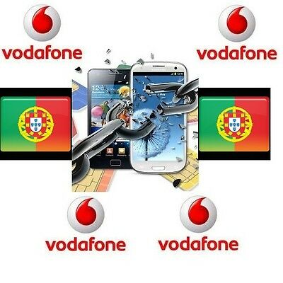 Unlock Code Vodafone Portugal Samsung,sony, Nokia, Alcatel, Huawei... No Iphone