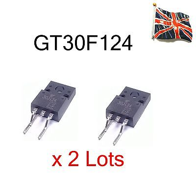 2 x 30F124 GT30F124  IGBT High Speed Switching TO-220 NEW UK STOCK