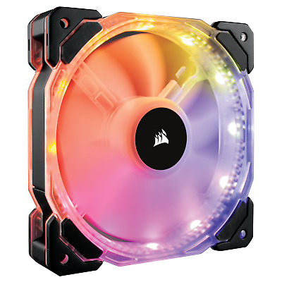 Corsair HD120 RGB LED High Performance 120mm PWM Fan (Pack of 3) with Controller