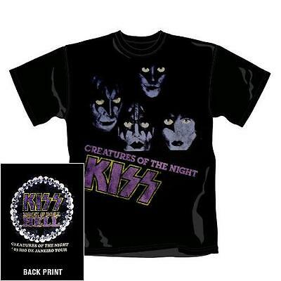 Kiss - Creatures Of The Night - Official Mens T Shirt