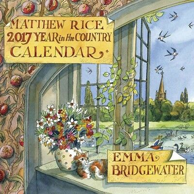 A Year in the Country, Matthew Rice Official Wall Calendar 2017