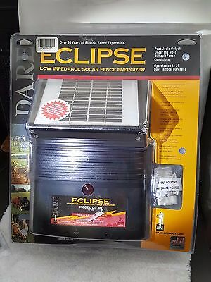 NEW! Dare Eclipse Low Impedance Solar Fence Energizer. Free Shipping!