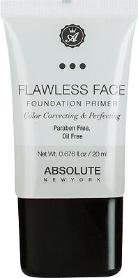 ABSOLUTE New York Flawless Face Foundation Primer (Clear) 20ml OVP