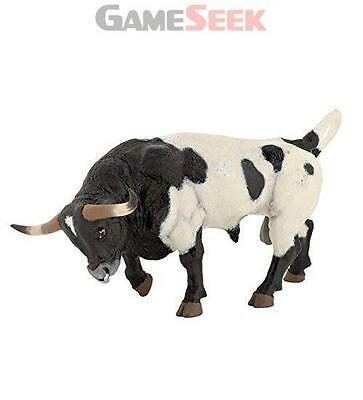 Papo Texan Bull Farm Animals Toy Figure - Toys Brand New Free Delivery