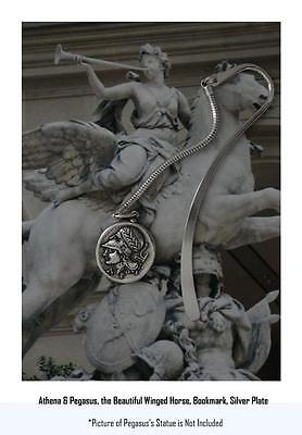 Percy Jackson Book Fans, ATHENA and Pegasus, Annabeth's Mother, BOOKMARK 43-S