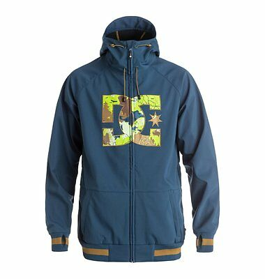 Dc Shoes Spectrum Jacket Insignia Blue Giacca Softshell Snowboard Fw 2017 New S