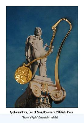 Percy Jackson Book Fans, APOLLO & Lyre, God of the Sun, BOOKMARK, 30-G