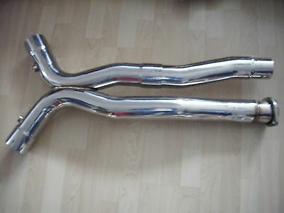 Mercedes AMG Exhaust Crossover V2A X Pipe SL55 63 CLK63 E55 SLK55 CL555 CL55