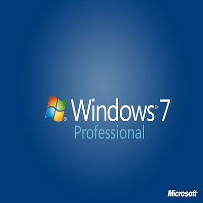 Barebone/Scrap PC with Genuine Windows 7 Pro 32/64 bit COA Product Key