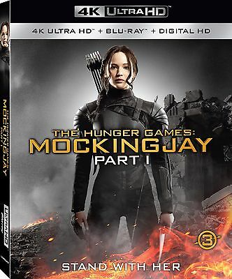 The Hunger Games: Mockingjay - Part 1 (4K Ultra HD)(UHD)(Atmos)