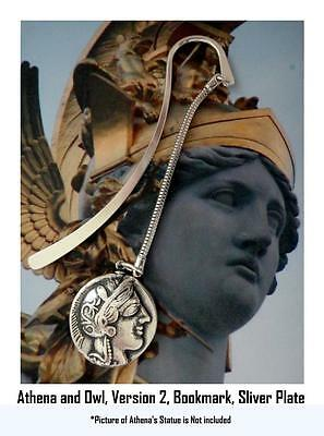 Percy Jackson Book Fans, ATHENA & Owl , Annabetth's Mother, BOOKMARK, 77-S