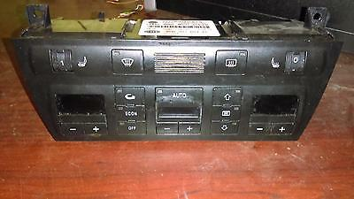 Audi A6 Heat/AC Controller w/o navigation system; from 10/98, w/heated seats