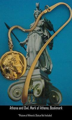 Percy Jackson Book Fans, ATHENA & Owl , Annabeth's Mother, BOOKMARK, 12-G
