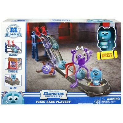 Disney Pixar Monsters University: Roll a scare Toxic Race Playset