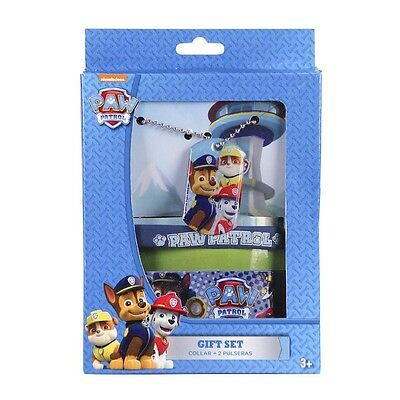 Accessoires Set 3 tlg. Halskette Armband Rubberband Paw Patrol